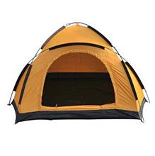 蓝橙 三人流动宿营帐篷