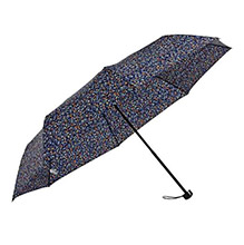 太阳城 碎花三折晴雨伞