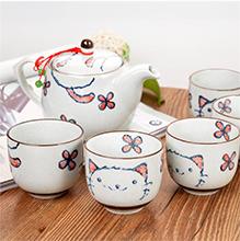 汉臻 日式一壶五杯茶具套装