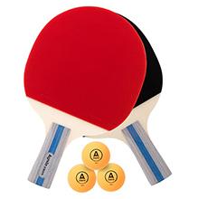 Agnite 安格耐特 正红反黑乒乓球拍套装